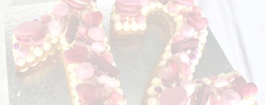 Letter/cijfer taart Taart voor jou bestellen
